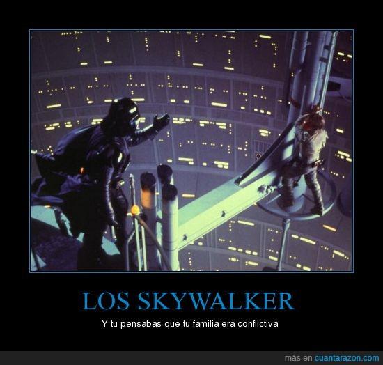 Anakin Skywalker,Darth Vader,Familia,Luke Skywalker,Star Wars