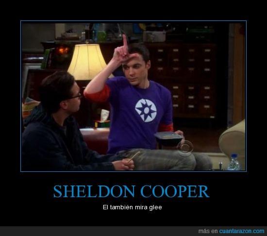 big bang theory,cooper,glee,gleek,Sheldon