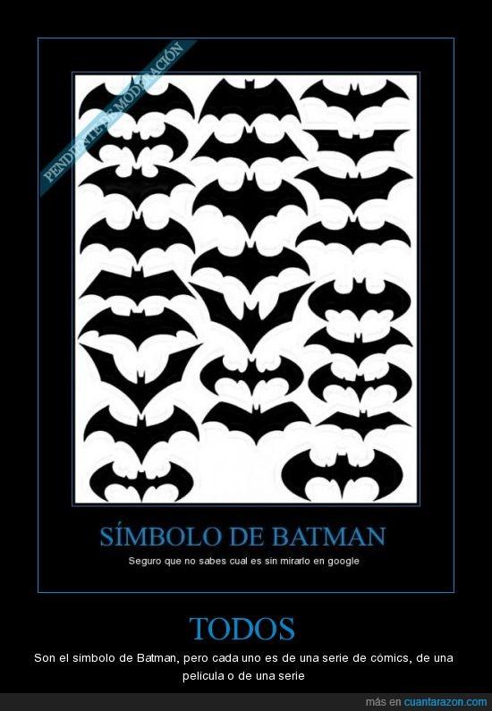 atolondrado,Batman,simbolo
