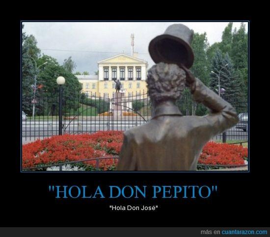 estatuas,hola,jose,pepito,saludo