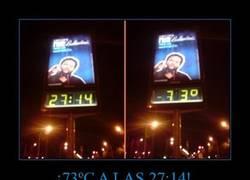 Enlace a ¡73ºC A LAS 27:14!