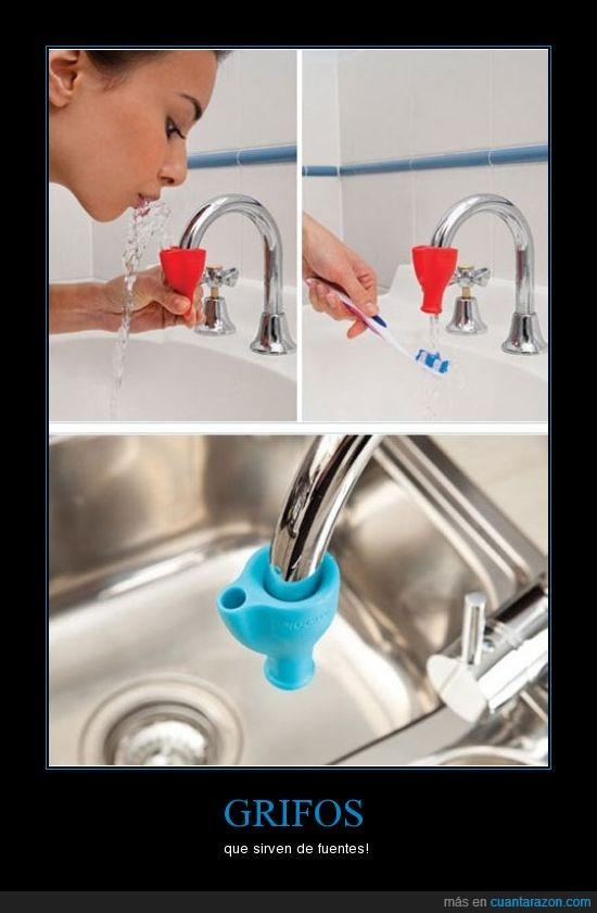 agua,boca,fuente,grifo
