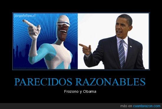 frozono,obama,parecidos