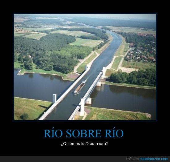 barco,puente,rio