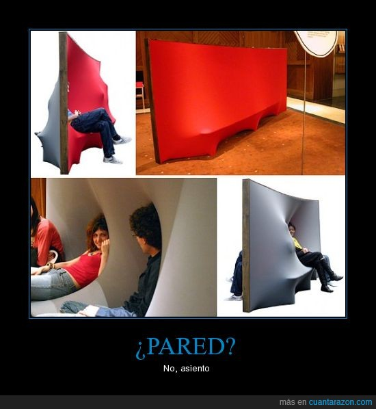 asiento,pared