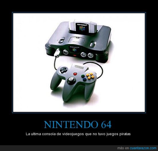 nintendo 64,pirateria
