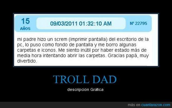 broma,dad,descripción,lol,troll