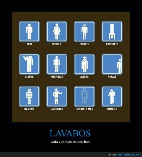 acróbata,alien,androide,específicos,gamer,gigante,hombre,invisible,lavabos,mujer,ninja,pirata,zombi