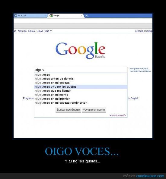 google,miedo,voces