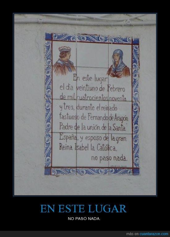 21 de Febrero,Cartel,Curioso,No pasó nada,Pepe90,Reyes Católicos,Tremenda hazaña,UIB,¡Viva Michel Salgado!
