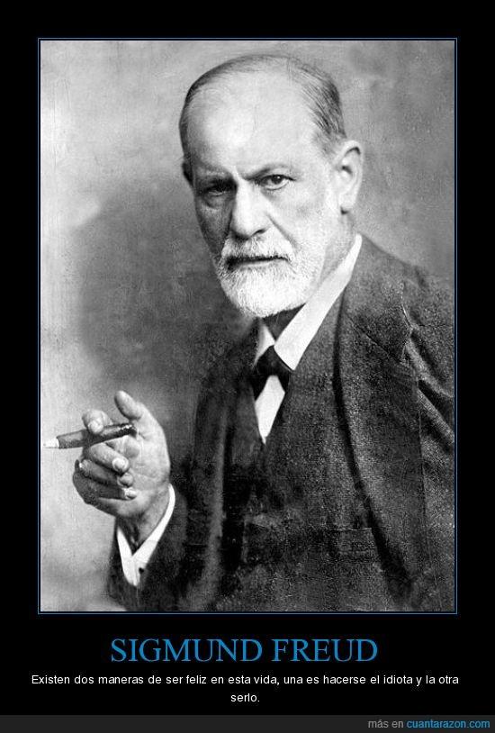 Cuánta Razón Sigmund Freud