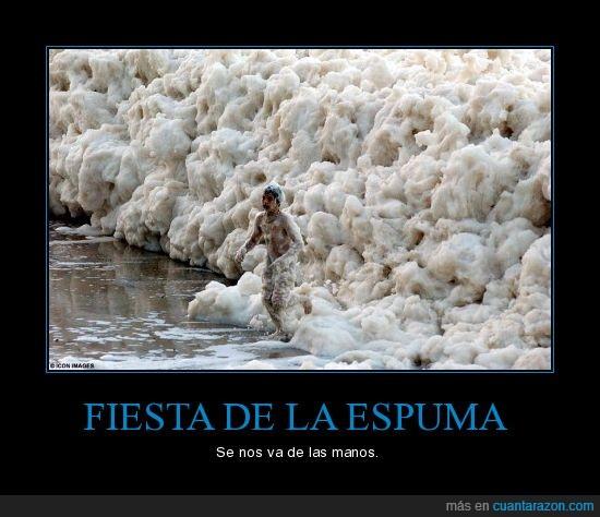 espuma,fail,Fiesta,niño