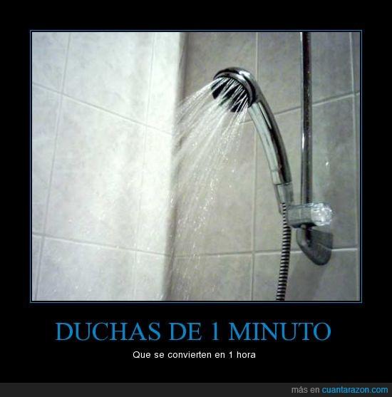 duchas,minuto