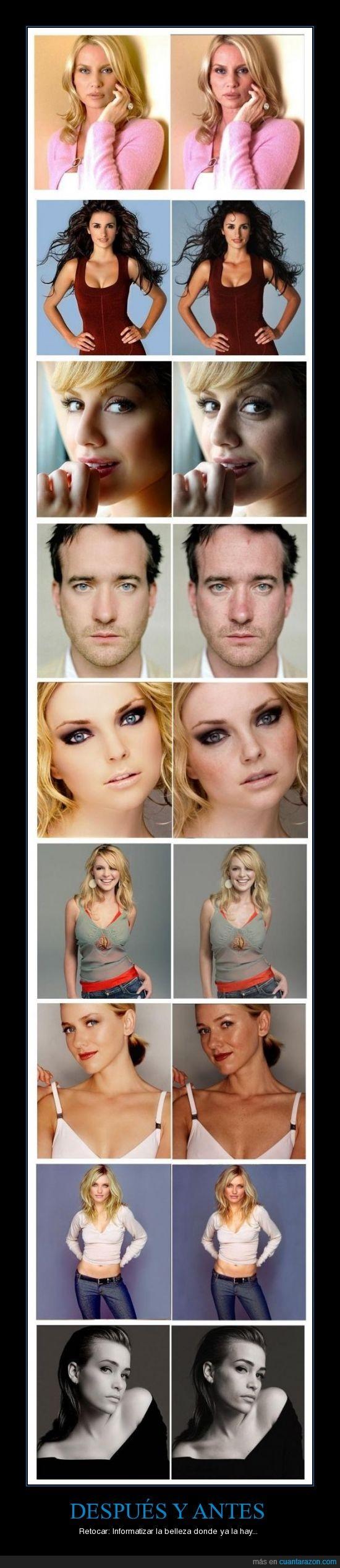 antes,belleza,después,photoshop,retocar