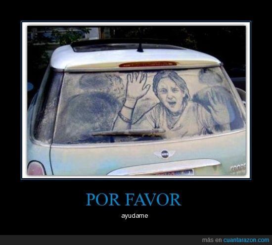 coche,pintada,secuestro