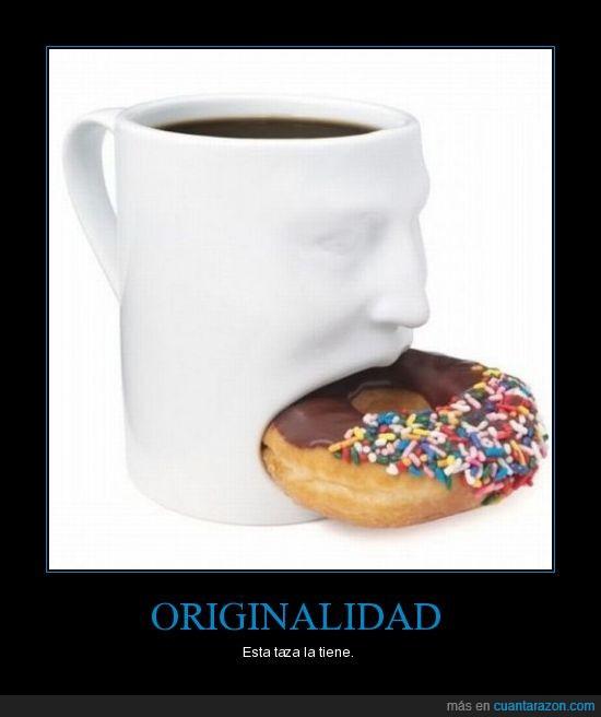 donuts,originalidad,Taza
