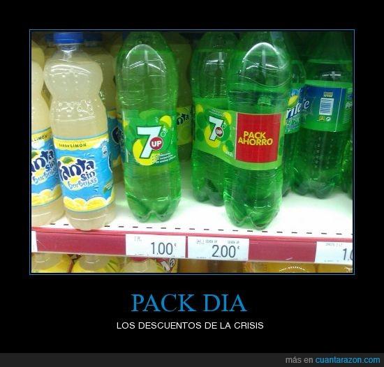 ahorro,Bebidas,crisis,Dia,movil,Pack