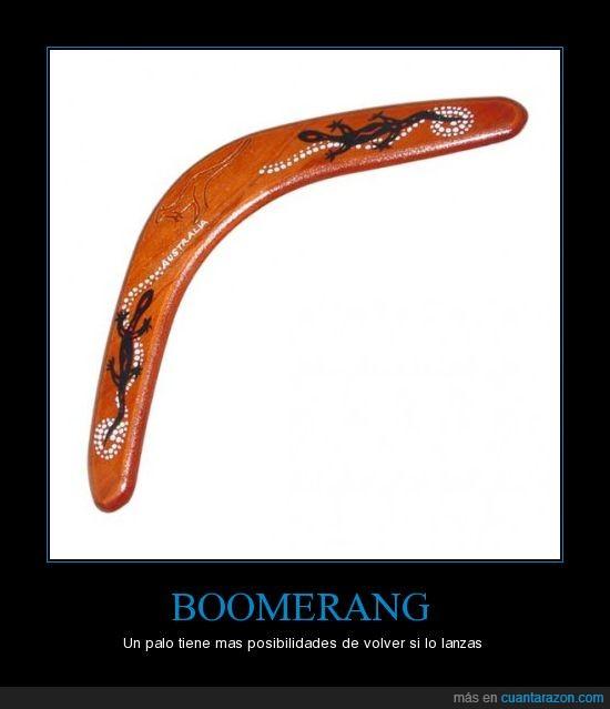boomerang,palo,volar,volver
