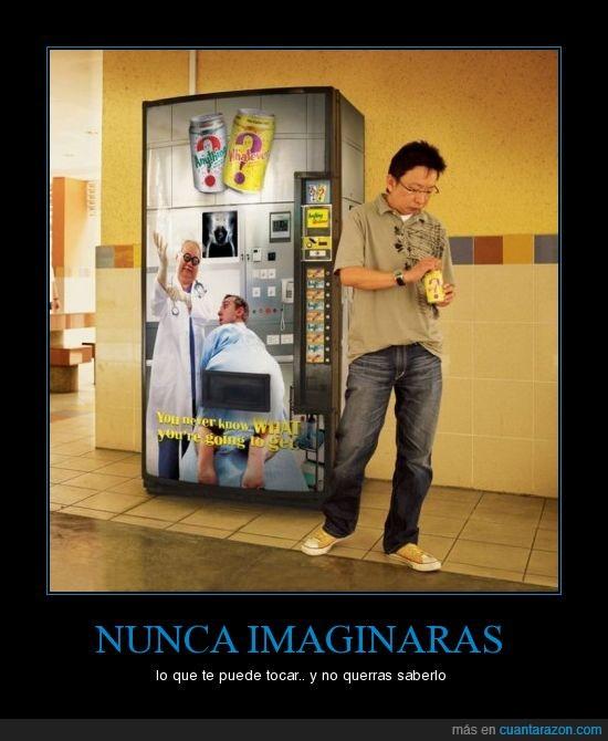 anuncio,latas,vending