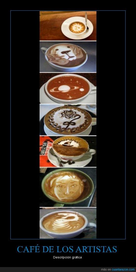 artistas,café,dibujos