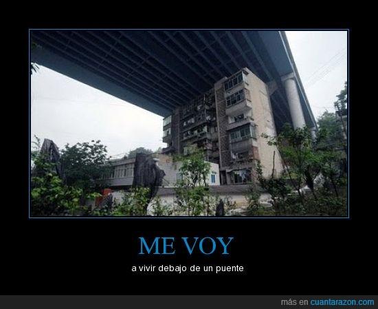 casa,puente,vivir