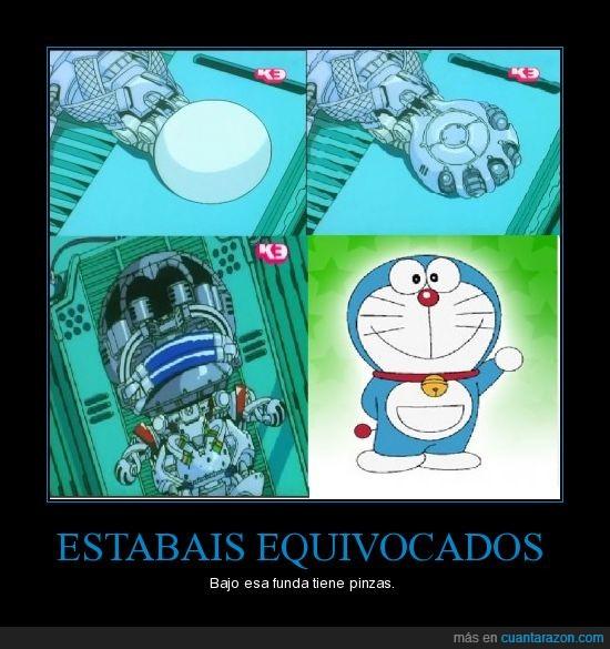 Doraemon,manos,pinzas,viñeta final