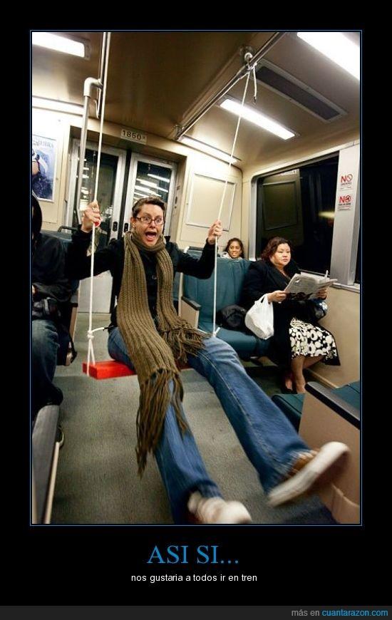 chica,novia,tren