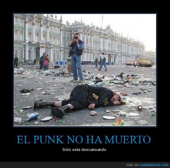 morir,punk,siesta