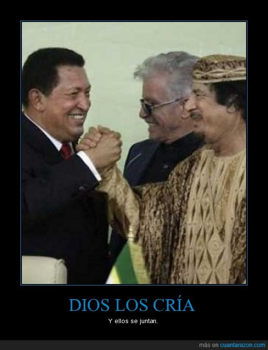 encuentro,Gadafu,Hugo chavez