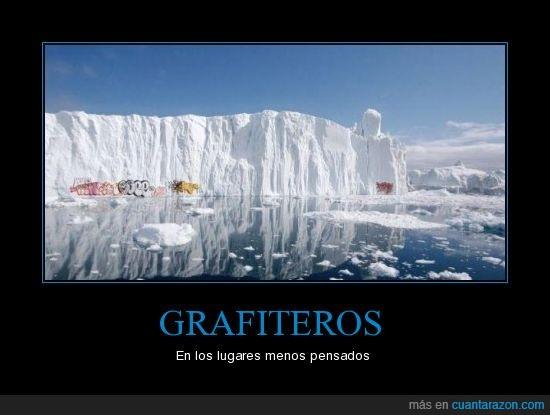 grafiti,iceberg