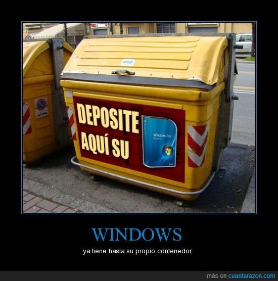 basura,caca,contenedor,windows
