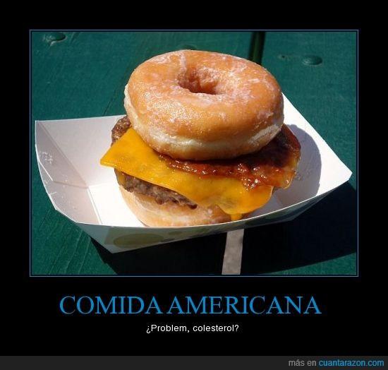 americana,comida,donuts,hamburguesa