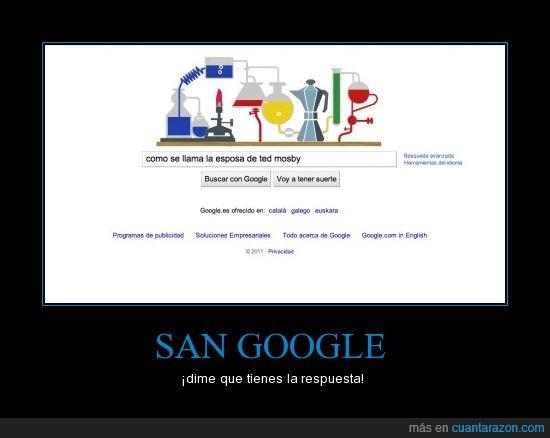 CCAVM,google,HIMYM,respuesta