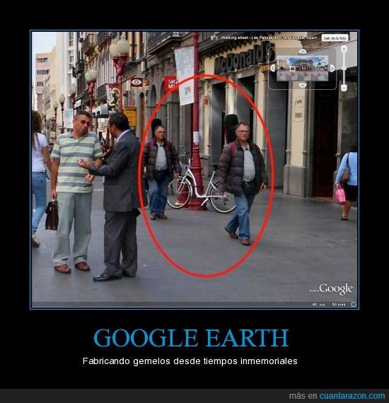 gemelos,google earth