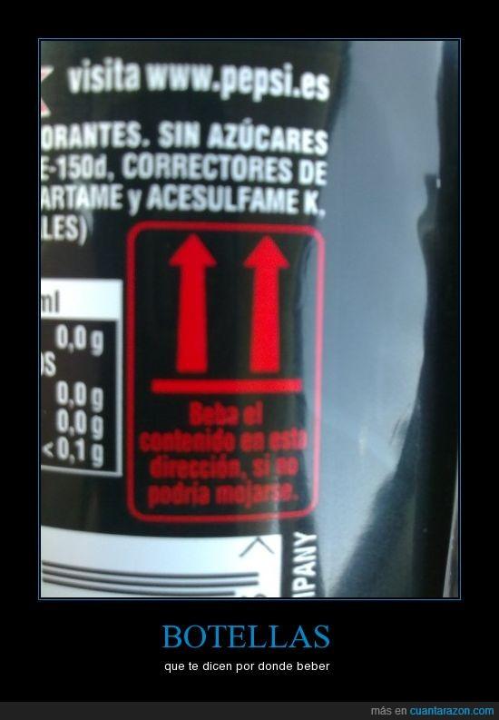 botella,etiqueta,pepsi
