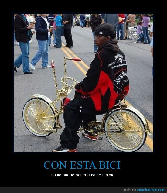bici,flipao,malote,oro