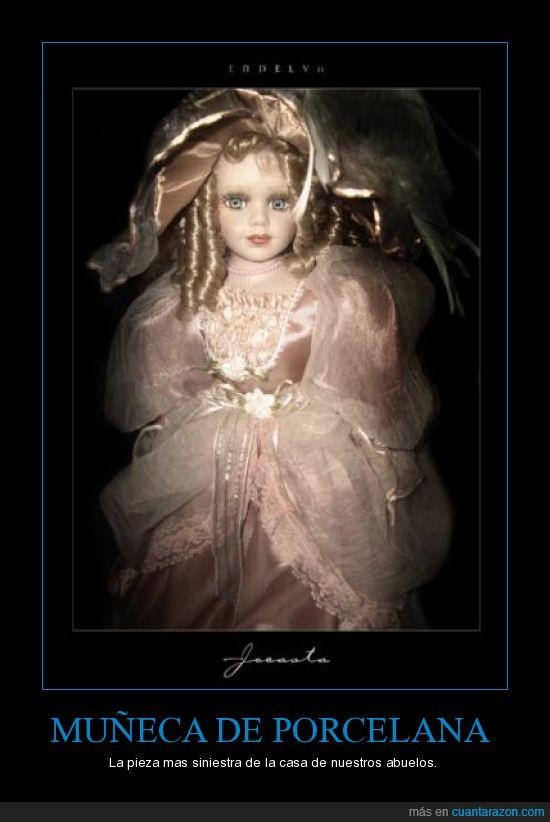abuelos,casa,miedo,muñeca,porcelana