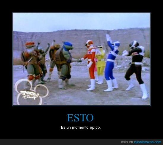 Epico,ninja,power,rangers,tortugas