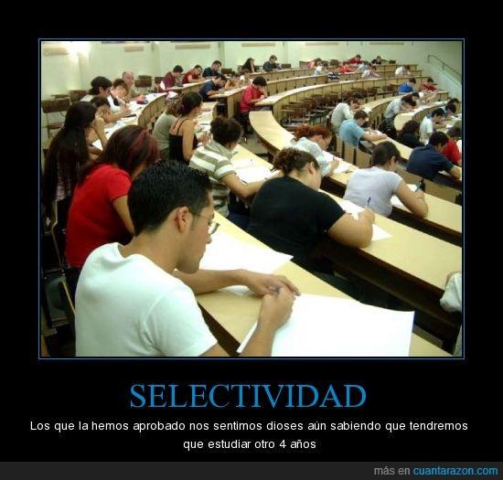 carrera,Estudiar,Selectividad