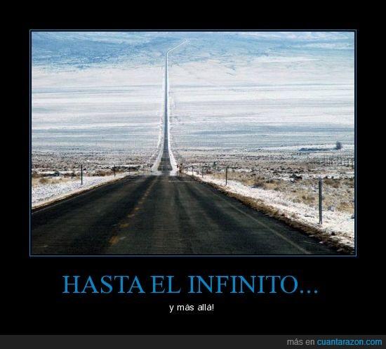 carretera,infinito