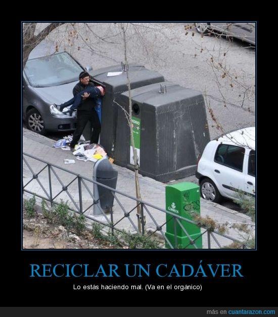 cadáver,mal,orgánico,reciclar
