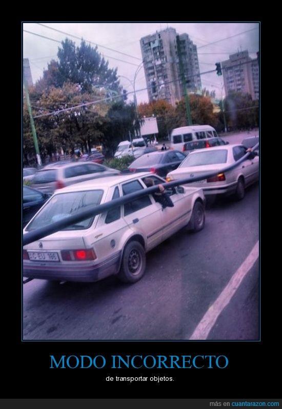 coche,fail,tubo