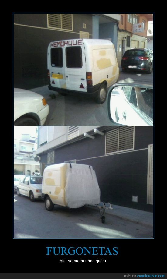 furgoneta,remolque,remorque