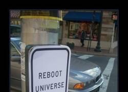 Enlace a REINICIAR EL UNIVERSO