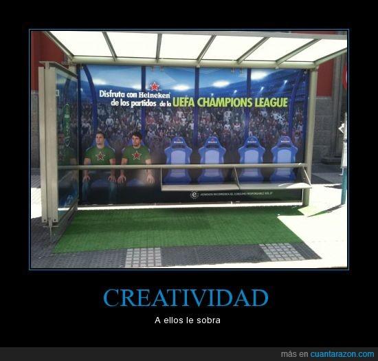 bus,creativo,heineken,parada