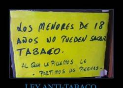 Enlace a LEY ANTI-TABACO