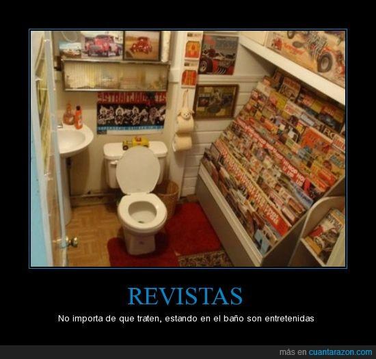 baño,entretenidas,Revistas