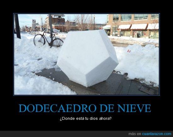 bola,escultura,geometrico,nieve