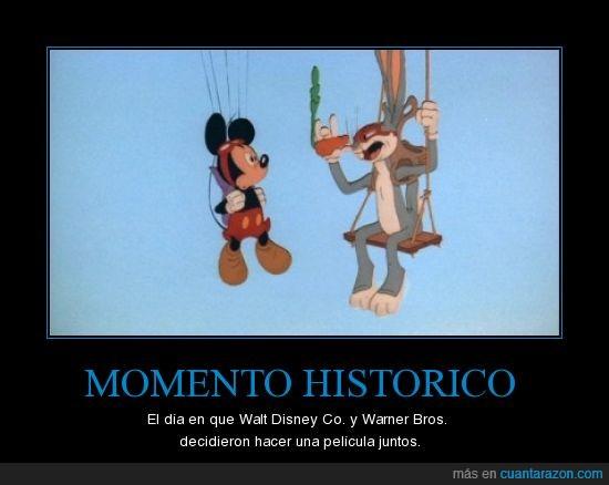 Buggs Bunny,mikey mouse,Walt Disney,Warner Bros