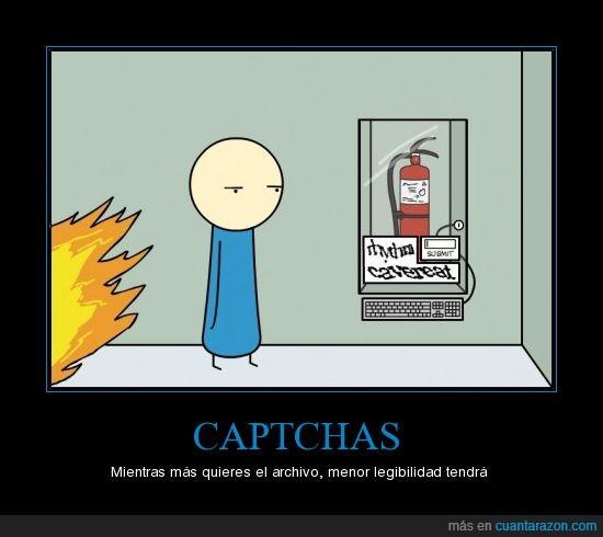 captcha,fuego,incendio,paciencia,prisa